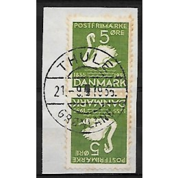 DK TB5 flot par på klip - stemplet i THULE 21-9-1936
