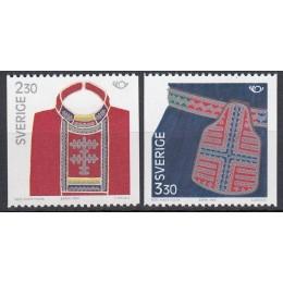 SV - 1497-1498 Postfrisk serie
