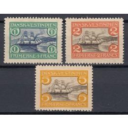 DVI 30-32 Sæt St. Thomas havn med Omvendte VM - Se beskr.