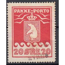 GR PP 09 Stemplet 20 øre - AVANE nr. 16