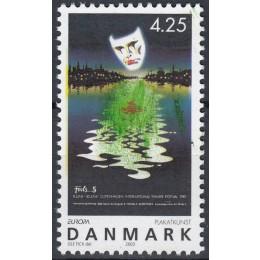 DK 1350y Postfrisk med god Variant