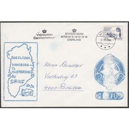 GR 139 På brev fra Slædepatruljen SIRIUS