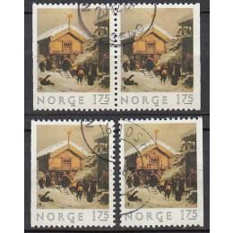 NO  0883 Stemplet inkl. Parstykke