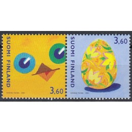 FIN 1548-1549 Postfrisk serie som parstykke