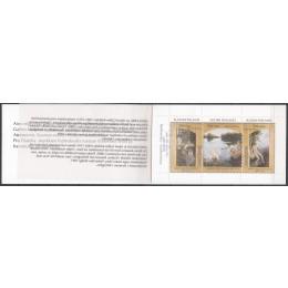 FIN 1389-1391 Postfrisk sammentryk i hæfte
