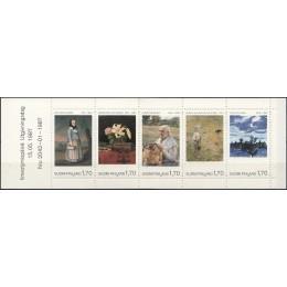 FIN 1019-1023 Postfrisk sammentryk i hæfte