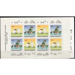 FIN 1229-1230 Postfrisk sammentryk i pænt hæfte