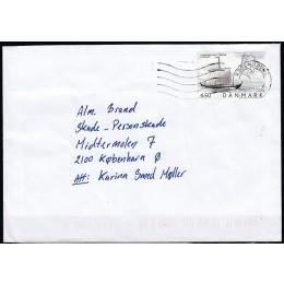 DK 1400 Stemplet m. mulig VARIANT - på pænt brev