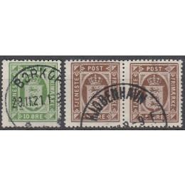 DK TJ 18-19 FLOT stemplet sæt tjenestemærker