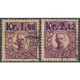 SV - 0098-0099 Stemplet sæt provisorier 1917