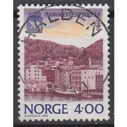 NO  1014 LUX/FLOT stemplet 4 kr