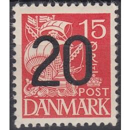 DK 0264a Ustemplet 20/15 provisorie med ATTEST