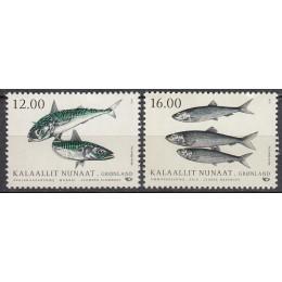GR 792-793 Postfrisk Serie Fisk