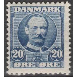 DK 0056a Postfrisk 20 øre