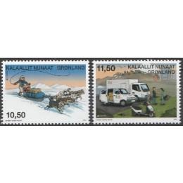 GR 637a-638a Postfrisk serie fra småark