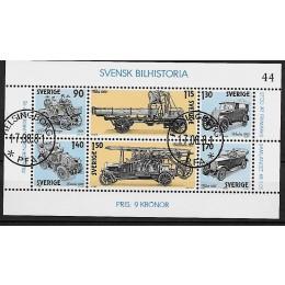 SV - 1126-1131 - LUX stemplet miniark