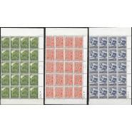DK 0299-0301 Postfriske arkrester