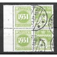 DK RE 48 Stemplet 4-blok Rundskuedag 1931