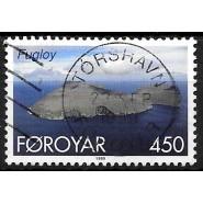FØ  351 LUX stemplet THORSHAVN