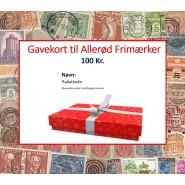 Gavekort 100 kr.