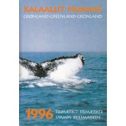 GR Årsmappe 1996 - Postfrisk