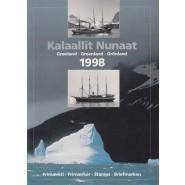 GR Årsmappe 1998 - Postfrisk