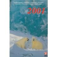 GR Årsmappe 2001 - Postfrisk