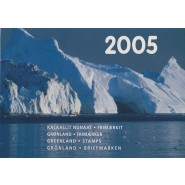GR Årsmappe 2005 - Postfrisk