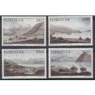 FØ  106-109 Postfrisk serie - Stanleys rejse