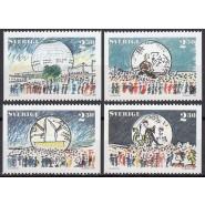 SV - 1493-1496 Postfrisk serie