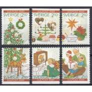 SV - 1526-1531 Postfrisk serie