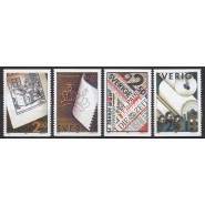 SV - 1566-1569 Postfrisk serie