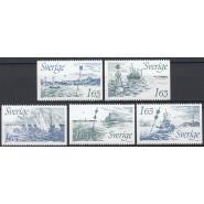 SV - 1192-1196 Postfrisk serie