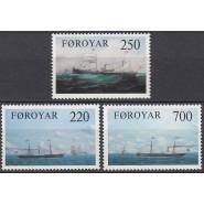 FØ  073-075 Postfrisk serie
