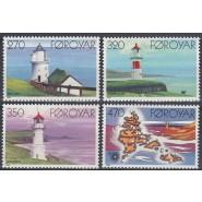 FØ  115-118 Postfrisk serie