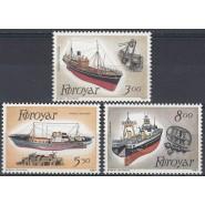 FØ  145-147 Postfrisk serie