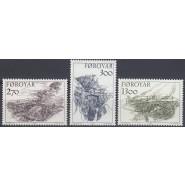 FØ  136-138 Postfrisk serie