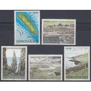 FØ  148-152 Postfrisk serie