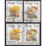 NO 1010-1011 inkl. parstykke, Stemplet