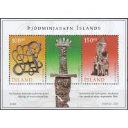 ISL 1070-1071 Postfrisk miniark