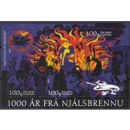 ISL 1313 Postfrisk miniark