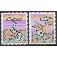 FØ  128-129 Postfrisk serie