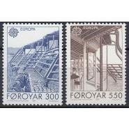 FØ  143-144 Postfrisk serie