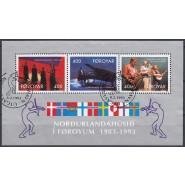 FØ  235a-237a Pænt stemplet (FDC) miniark