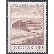 FØ  035 (x) Postfrisk med VARIANT - se beskrivelse