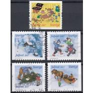 SV - 2543-2547 Stemplet serie
