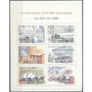 FIN 0989-0994 Postfrisk sammentryk i hæfte