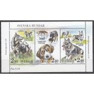 SV - 1516-1518 Postfrisk miniark