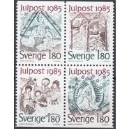 SV - 1344-1347 Postfrisk 4-blok