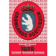 GR Årsmappe 1979 - Postfrisk